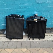Vintage Radiators Restored –  Jaguar XK140 and  MG yb – Both from 1950's